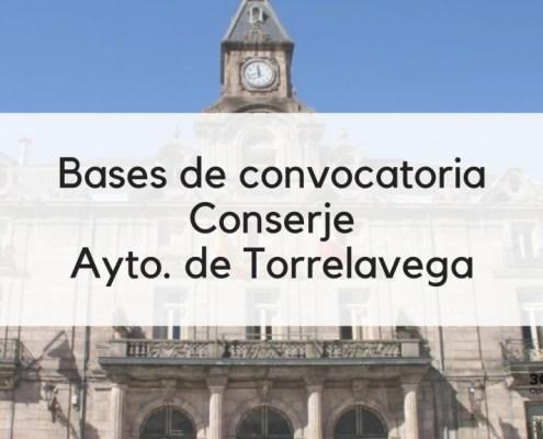 3 plazas Conserje oposiciones 2019 Torrelavega Cantabria