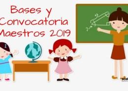 Bases-Convocatoria-oposiciones-maestros-2019-Cantabria Programacion didactica audicion y lenguaje AL