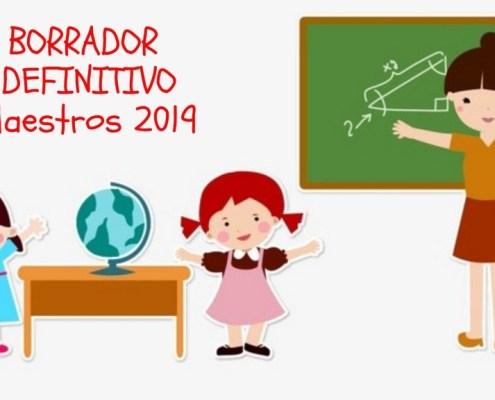 Borrador definitivo Bases Convocatoria oposiciones maestros Cantabria 2019