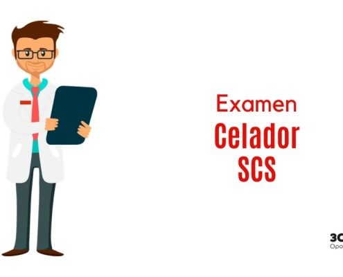 Examen oposicion Celador SCS Cantabria