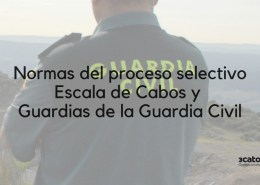 Normas-oposicion-Guardia-Civil-2019 Preparador Guardia Civil