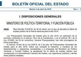 2506-plazas-Policia-Nacional-2019-Escala-Basica Preparación pruebas fisicas policia nacional