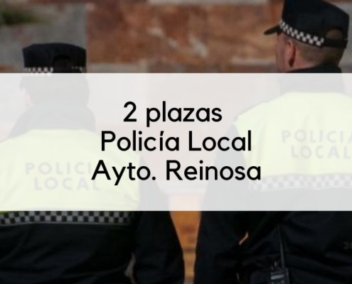 Bases 2 plazas Policia Local Reinosa