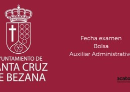Fecha-examen-bolsa-Auxiliar-Administrativo-Bezana-2019 Oposiciones Hacienda: plazas, requisitos y tipos de examen en la convocatoria