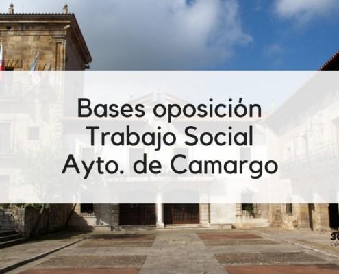 Bases 1 plaza Trabajador Social Camargo
