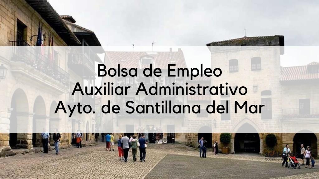 Bases-bolsa-auxiliar-administrativo-2019-Santillana-del-Mar-1 Bolsa auxiliar administrativo 2019 Santillana del Mar