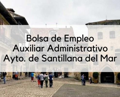 Bolsa auxiliar administrativo 2019