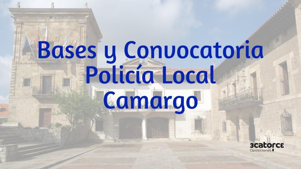 Bases-convocatoria-5-plazas-Policia-Local-Camargo Bases convocatoria 5 plazas Policia Local Camargo