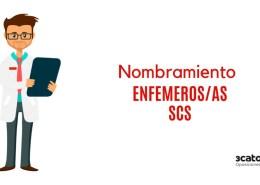 Nombramiento-Enfemeros-SCS Se esperan 348 plazas OPE sanidad 2019 Cantabria