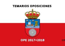Temarios-oposiciones-Cantabria-2019-1 Temario Auxiliar Administrativo Santander