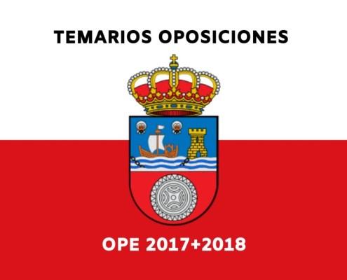 Temarios oposiciones Cantabria 2019