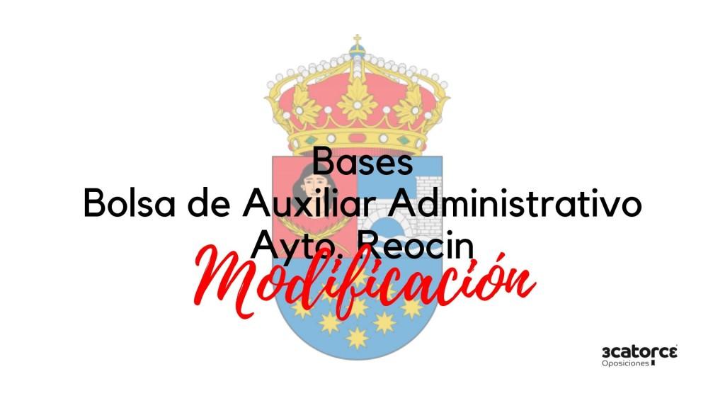 Modificacion-bases-oposicion-auxiliar-administrativo-Reocin Modificacion bases oposicion auxiliar administrativo Reocin