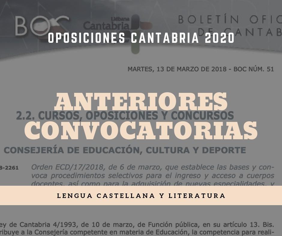 Convocatoria-oposiciones-lengua-2020 Convocatoria oposiciones Cantabria Lengua