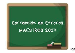 Correccion-errores-oposiciones-maestros-Cantabria-2019 Oposiciones PT Pedagogia Terapeutica Cantabria