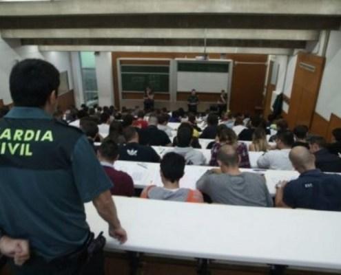 El 43% de los aspirantes suspende por la prueba ortografia Guardia Civil 2019