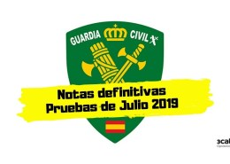 Notas-definitivas-examen-Guardia-Civil-2019 Preparador Guardia Civil