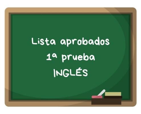 Notas primera prueba maestros ingles Cantabria 2019