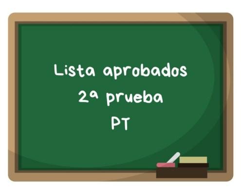 Notas segunda prueba PT maestros Cantabria 2019