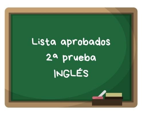 Notas segunda prueba ingles maestros Cantabria 2019