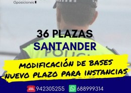 Convocatoria-Oposiciones-Policia-Local-Santander-2019 Test Policia local santander