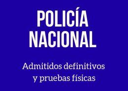 Lista-admitidos-definitivos-Policia-Nacional-2019 Prevision 5000 plazas oferta empleo policia nacional y guardia civil