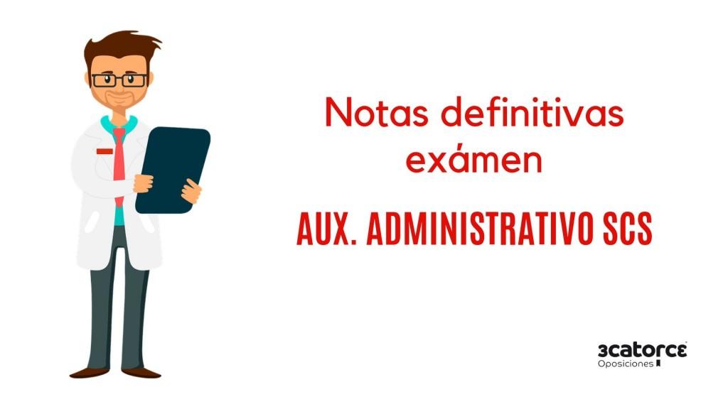 Resultado-definitivos-examen-Auxiliar-Administrativo-SCS-2019 Resultados definitivos examen Auxiliar Administrativo SCS 2019