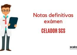 Resultados-definitivos-examen-Celador-2019-SCS Convocatoria oposicion SCS FEA Radiodiagnostico Valdecilla 2019