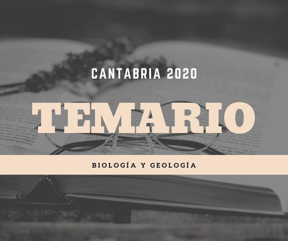 Temario-oposiciones-Biologia-Geologia-Cantabria-2020 Temario oposiciones Biologia Geologia Cantabria 2020