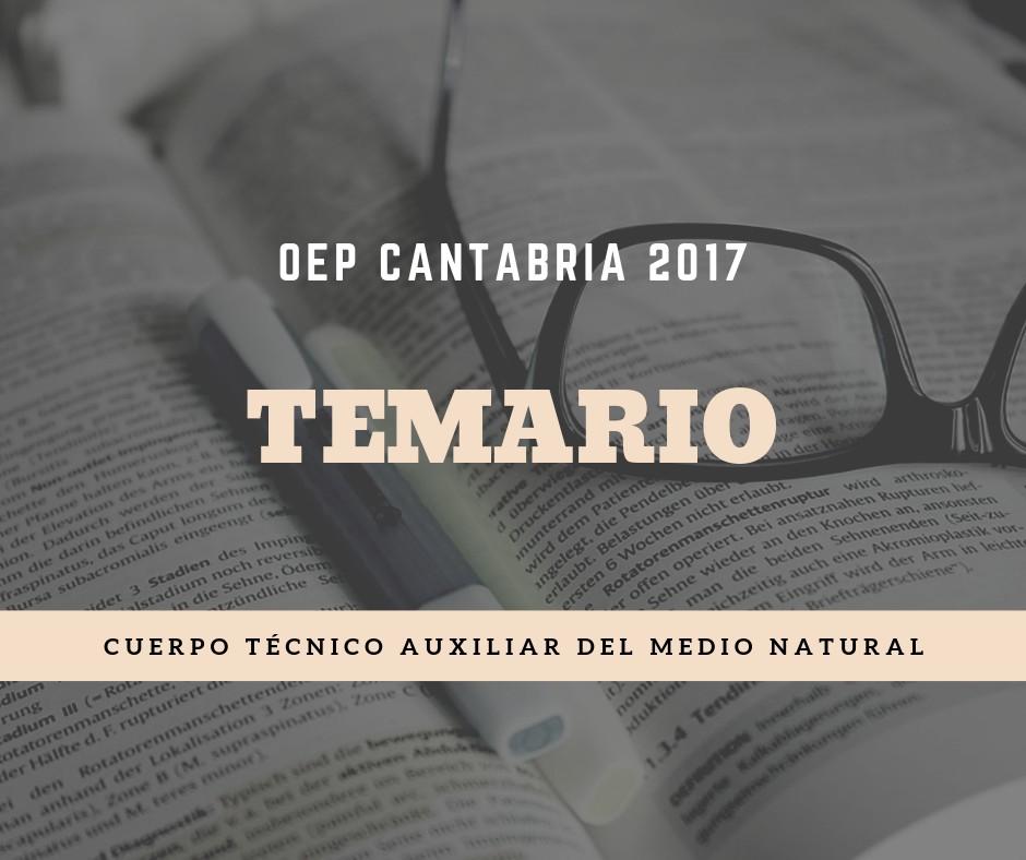 Temario-oposiciones-agente-medioambiental-Cantabria-2020 Temario oposiciones agente medioambiental Cantabria 2020