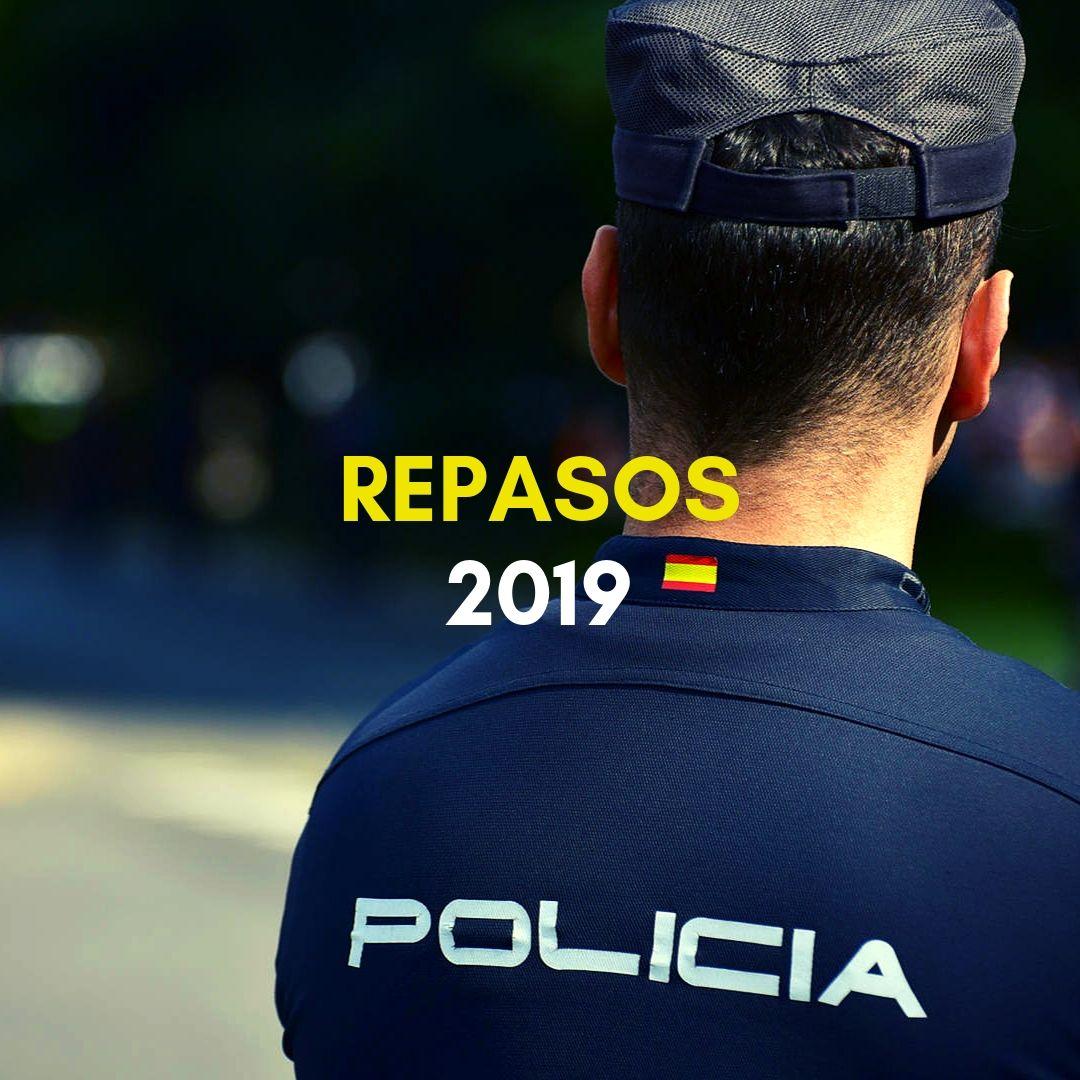 repasos-policia-nacional Fechas pruebas fisicas Policia Nacional 2019