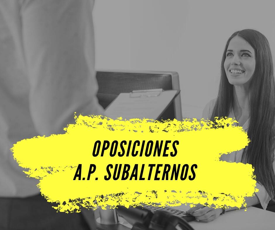 oposiciones-Subalterno-Cantabria-2019-2020 Test Subalterno Cantabria