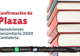 Confirmada-la-OPE-secundaria-2020-Cantabria Tribunales definitivos oposiciones maestros Cantabria 2019