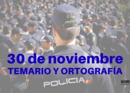 Fecha-examen-Policia-Nacional-2019-conocimientos-y-ortografia Academia Oposicion Policia Nacional Cantabria