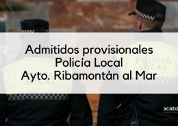 Lista-provisional-admitidos-Policia-Local-Ribamontan-2019 Convocatoria Policia Local Suances 2019