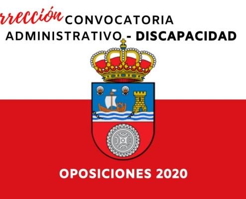 Correcion Convocatoria Administrativo Cantabria 2020