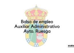 Bases-y-convocatoria-bolsa-Auxiliar-Administrativo-Ruesga-2020 Bases oposicion Peon Servicio Multiples Guriezo Cantabria