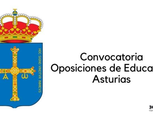 Convocatoria oposiciones Educacion Asturias 2020