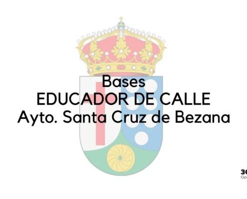 Bases oposicion Educador Bezana