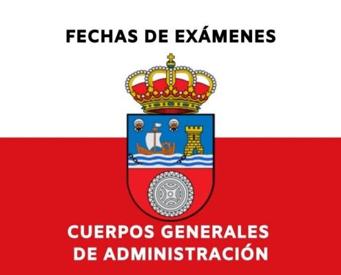 Fechas examenes oposiciones Gobierno de Cantabria