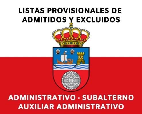 Listas admitidos oposiciones Gobierno Cantabria