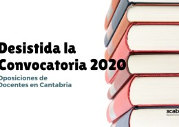 Desistida-convocatoria-y-devolucion-tasas-oposiciones-secundaria-Cantabria Examen supuestos ingles Cantabria 2019