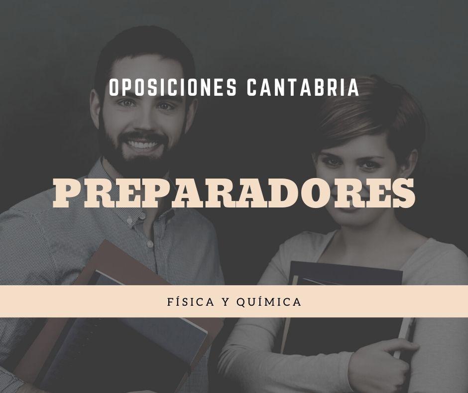 1 Preparador oposiciones Fisica Quimica Cantabria