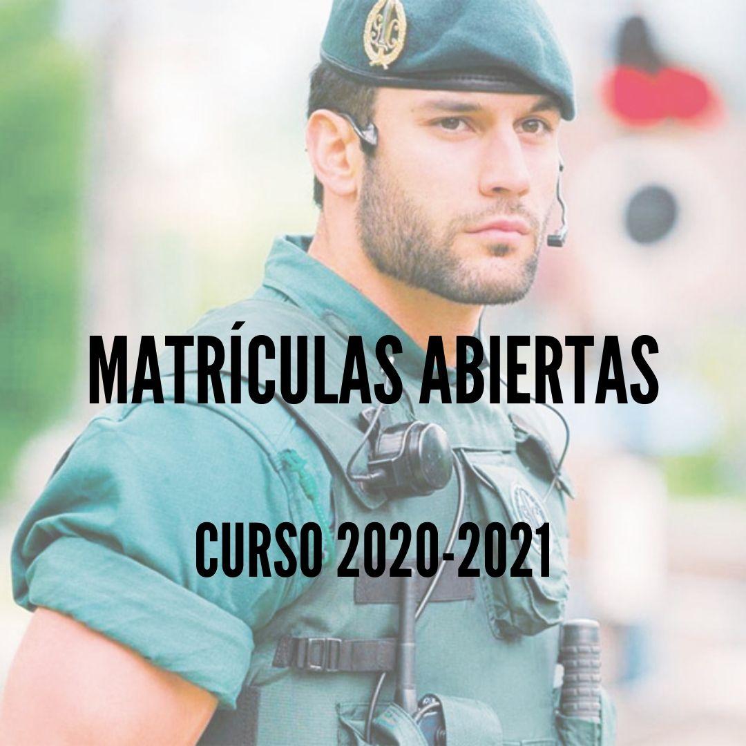 CURSO-GUARDIA-CIVIL-2020-2021-MATRICULAS-ABIERTAS Situación actual de vacantes Guardia Civil en reserva