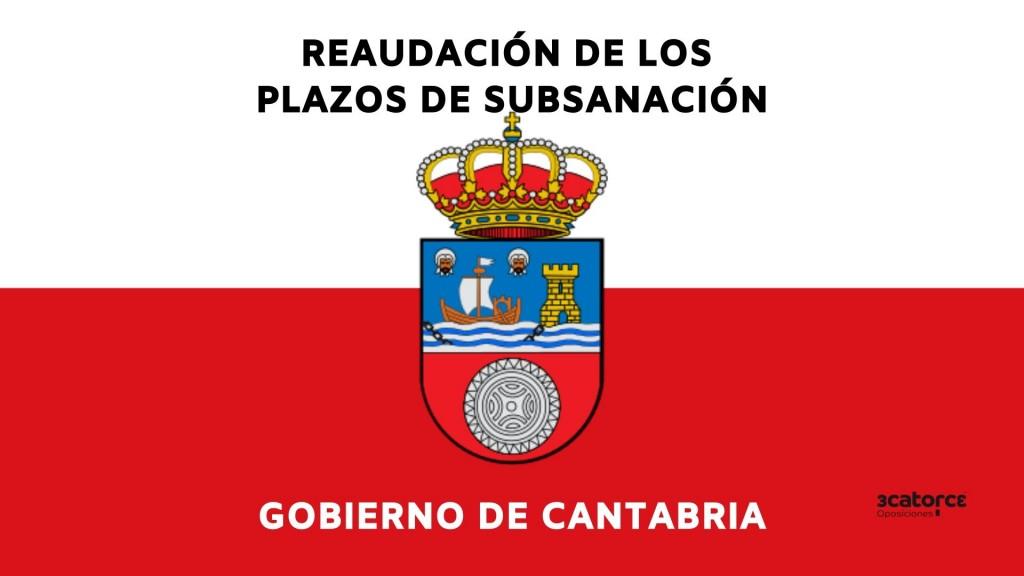 El-Gobierno-reanuda-plazo-subsanacion-oposiciones-Cantabria El Gobierno reanuda plazo subsanacion oposiciones Cantabria