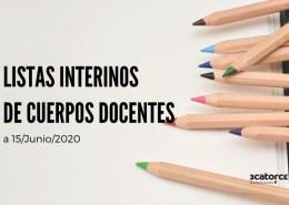 Lista-interinos-maestros-Cantabria-y-otros-cuerpos-docentes Temario Oposiciones primaria