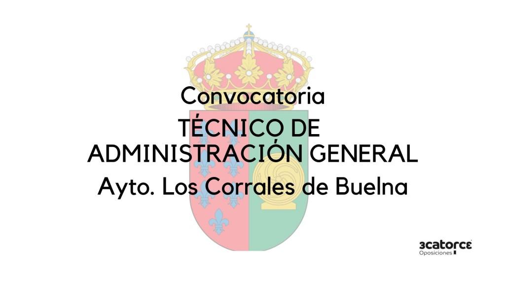 Oposiciones-Los-Corrales-de-Buelna-Convocatoria-de-una-plaza-de-Tecnico-Administracion-General Oposiciones Los Corrales de Buelna Convocatoria de una plaza de Tecnico Administracion General