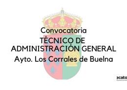 Oposiciones-Los-Corrales-de-Buelna-Convocatoria-de-una-plaza-de-Tecnico-Administracion-General Curso Torrelavega auxiliar administrativo SCS 2018
