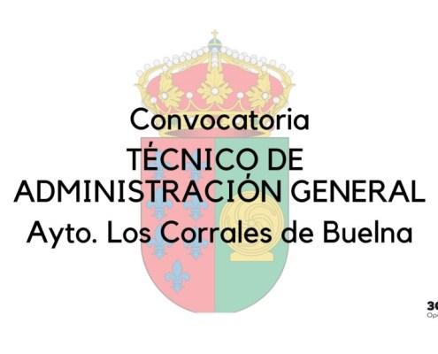 Oposiciones Los Corrales de Buelna Convocatoria de una plaza de Tecnico Administracion General