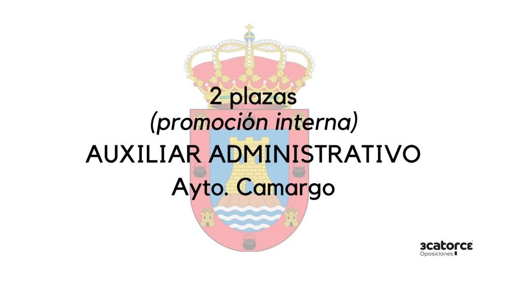 Se-levanta-la-suspensión-de-plazos-de-la-convocatoria-para-la-cobertura-de-2-plazas-Auxiliar-Administrativo-Camargo Se levanta la suspensión de plazos de la convocatoria para la cobertura de 2 plazas Auxiliar Administrativo Camargo