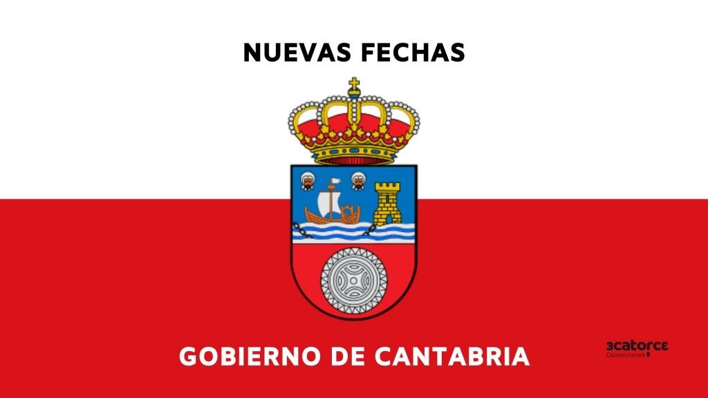 Confirmadas-nuevas-fechas-oposiciones-Cantabria Confirmadas nuevas fechas oposiciones Cantabria
